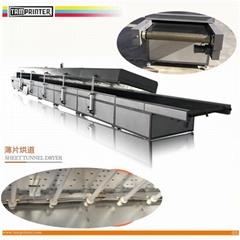 coat spraying dedicated tunnel oven drying line (Hot Product - 1*)