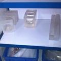 Transparent crystal mould for make pad 3