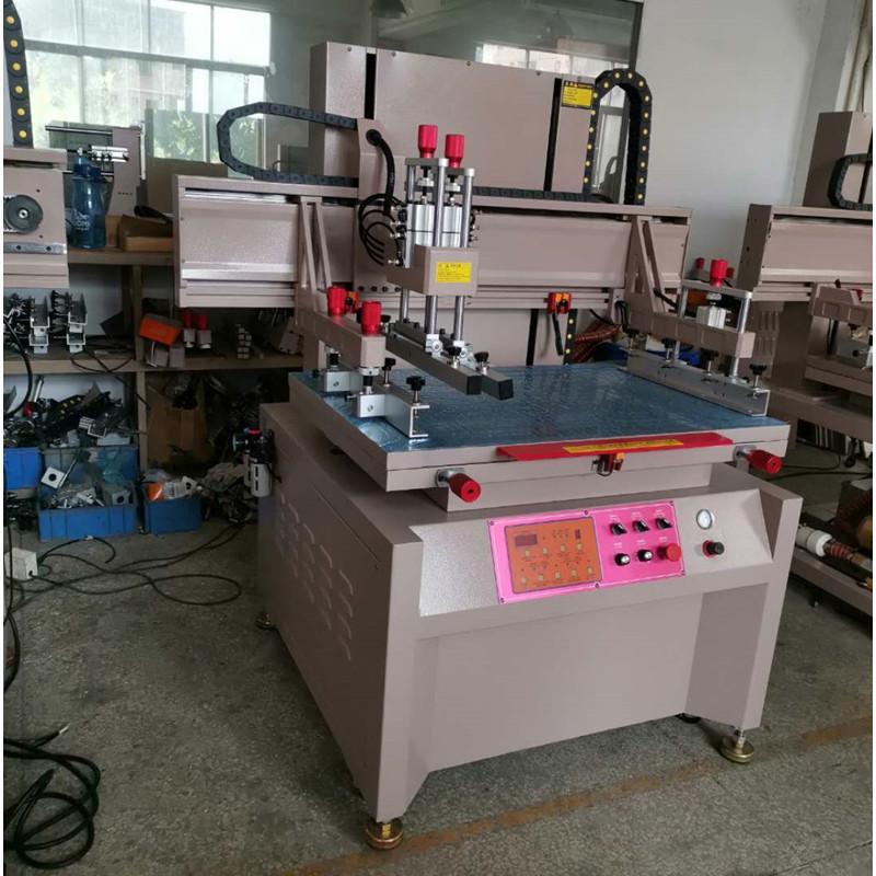 servo precision Vertical screen printing machine 17