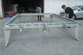 German screen re-mesh stretch table