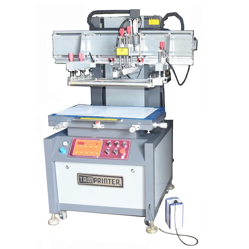 Vertical  Electric screen printing machine 2