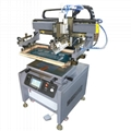 double-servo precision screen printing machine with ink drip prevention system