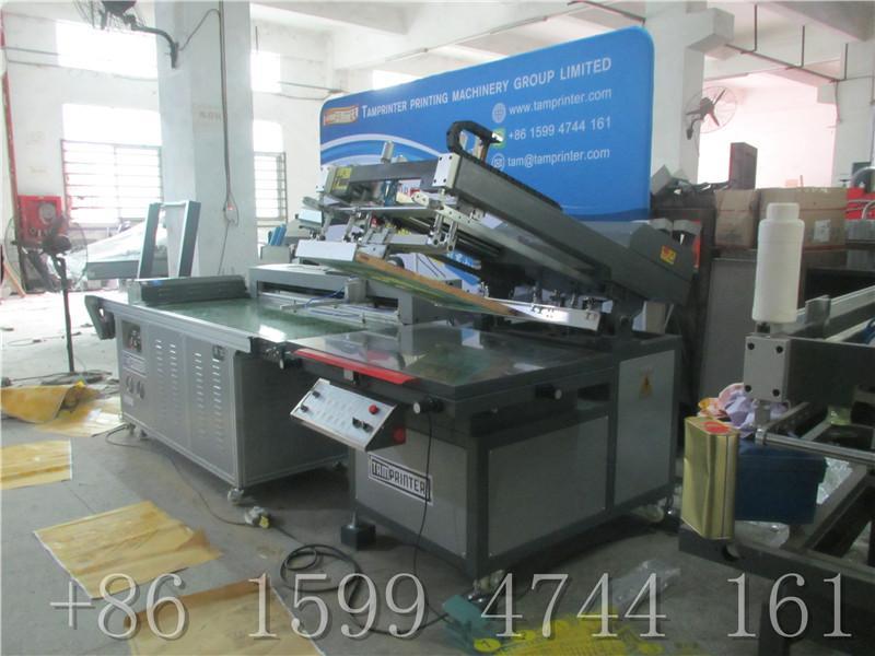 Plastic sheet clean room screen printing equipment 2