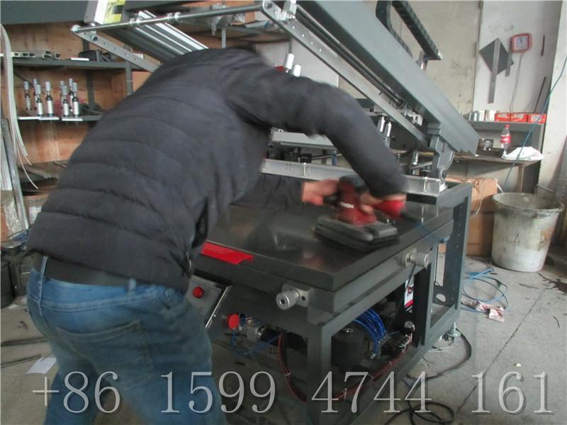PAPER UV INK AUTO Screen Printing Machine 7