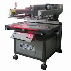 高精密斜臂式平面網印機