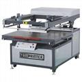 Vinyl semi Clamshell Screen Printing Machine