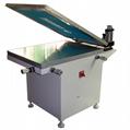 Manual Glass vacuum table silk screen