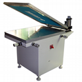 Manual Glass vacuum table silk screen printer
