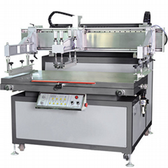 Heavy glass semi-automatic screen printing machine