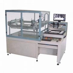 High-precision CCD vision alignment automatic screen printing machine