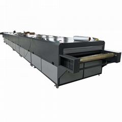 加宽型制品印刷行业150度常规红外线隧道炉