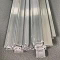 Stretcher guide rail aluminium profile 2