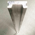 Stretcher guide rail aluminium profile