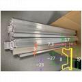 Stretcher guide rail aluminium profile 3