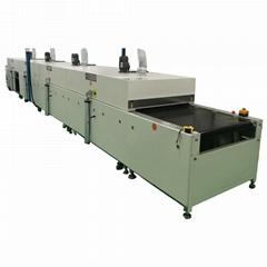 薄膜開關絲印烘乾機