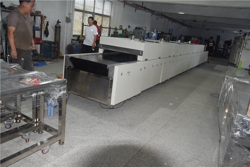 薄膜開關絲印烘乾機 7