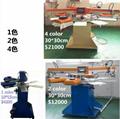 6 color Textile Screen Printing Machine
