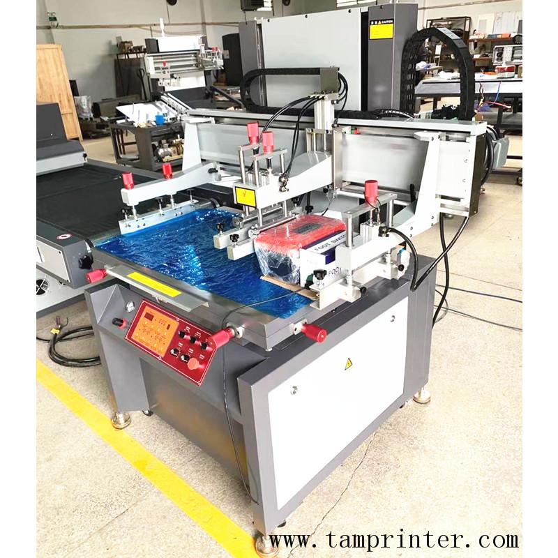Electric vertical screen printing machine with uv tunnel  curing machine  5
