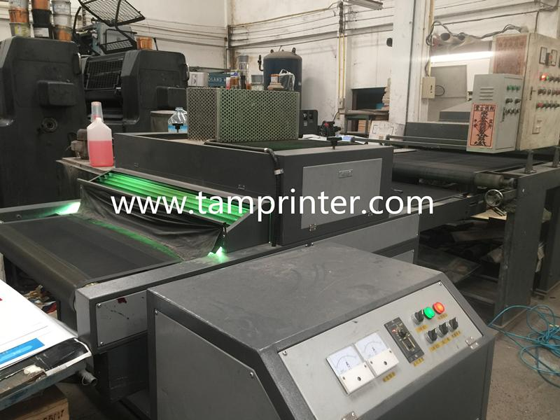 High speed and high interface Offset UV Curing Tunnel Drying Machine  4