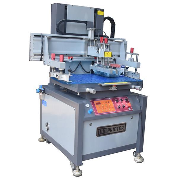 Vertical  Electric screen printing machine 1