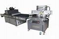 Precision servo screen printing machine for electronic optics industry