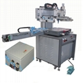 Precision servo screen printing machine for electronic optics industry