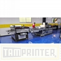big size Automatic screen printing machine for sheet with automatic blanking 2
