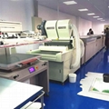 Offset printing heat press paper automatic screen printing production line 2