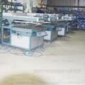 big Semi-automatic big  Oblique Arm Screen Printer
