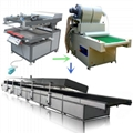 Offset printing heat press paper automatic screen printing production line