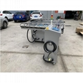 fully automatic gas-electricity hybrid mesh Stretching Machine