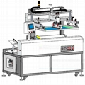 Fully automatic sheet screen printing