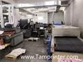 Gold glitter powder greeting card auto screen printing machines 10