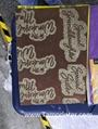 Gold glitter powder greeting card auto screen printing machines 11