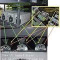 spot uv machine for automatic Reciprocating screen print