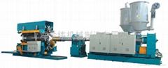 上海金緯機械HDPE雙壁波紋管設備生產線