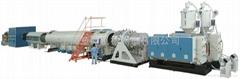 上海金纬HDPE管材生产线