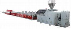 上海金緯木塑型材生產線