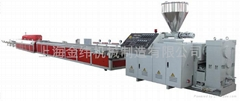 上海金纬木塑型材生产线