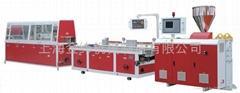 上海金緯塑鋼型材擠出生產線