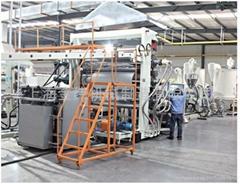 上海金緯ABS冰箱板擠出生產線