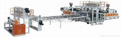 上海金緯PVC地板革設備生產線