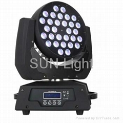 36PCS*10W 4 in 1 LED zoom wash moving head