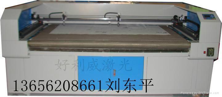 南京布料激光切割機 1