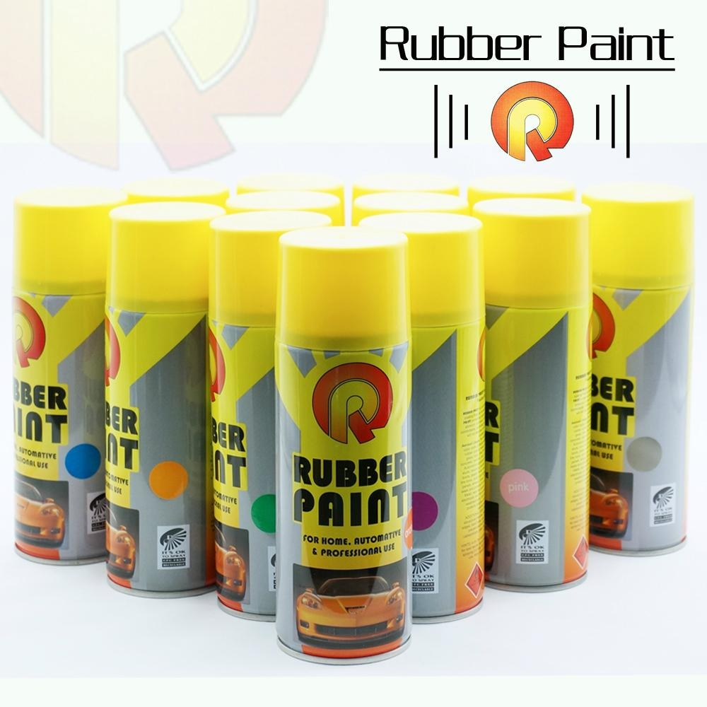 Car Exterior: Colorful Car Rubber Paint Spray Film Peelable Instantly