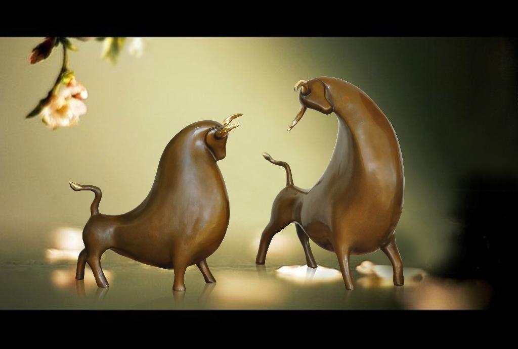 銅動物系列 1