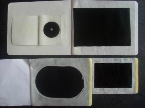 白色防水透皮磁療貼  2