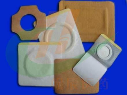各种形状膏药半成品加工厂 1