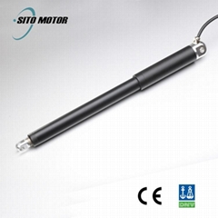 12v 24v DC tubular linear actuator for industry equipment