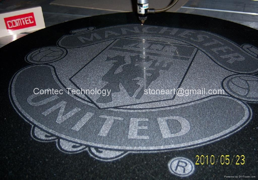 stone engraving for coffee table